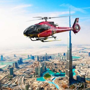 12 minutes luxury helicopter tour