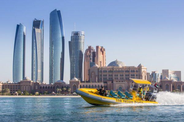 Boat tour in abu dhabi