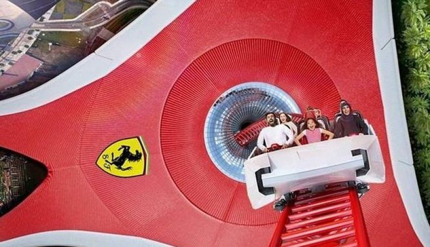 Ferrari World Abu Dhabi Entrace Ticket