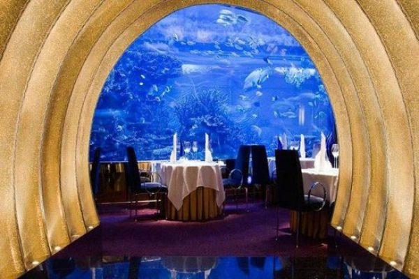 Lunch in Al Mahara Restaurant