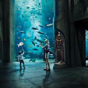 Aquarium at atlantis the palm