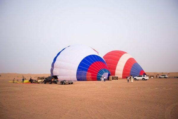 Dubai hot air balloon