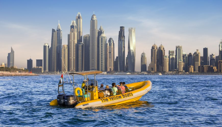 Dubai marina evening sightseeing cruise