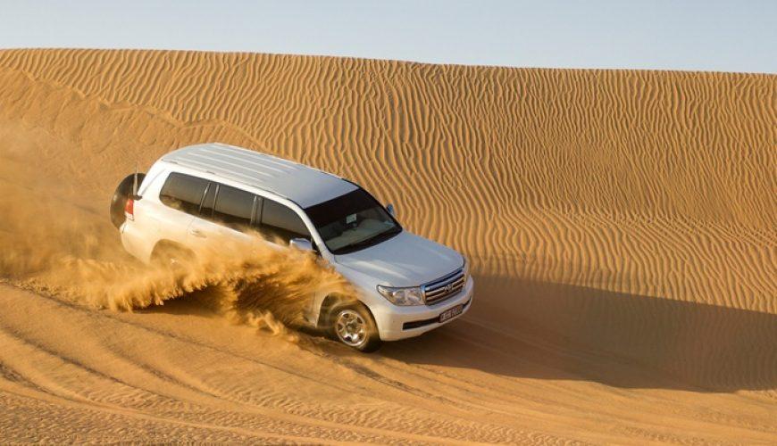 Desert safari with centralised