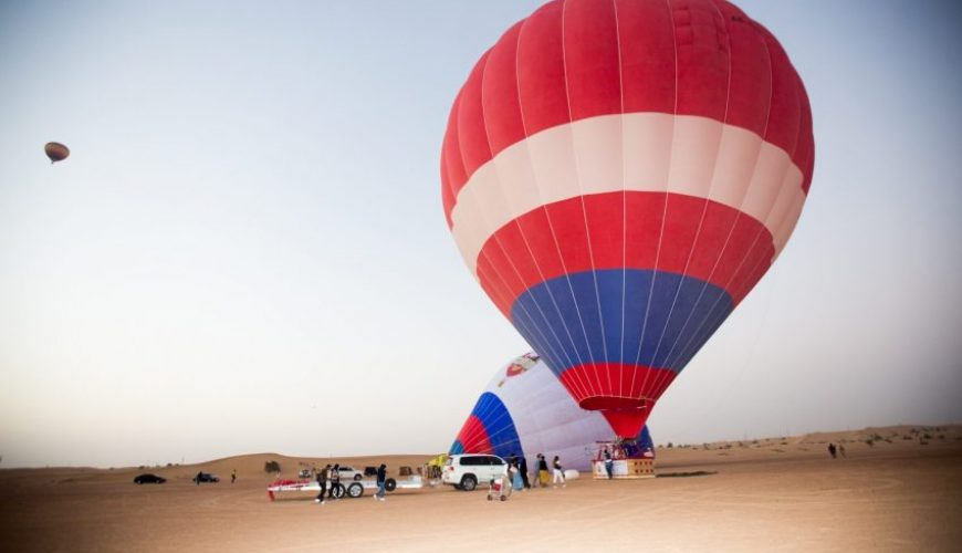 Deluxe hot air balloon ride