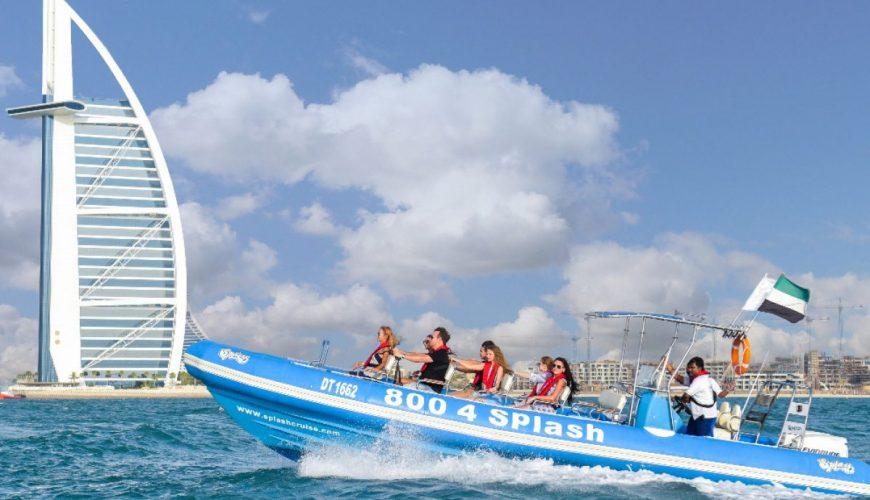 Dubai 1.5-Hour Speedboat Tour Marina