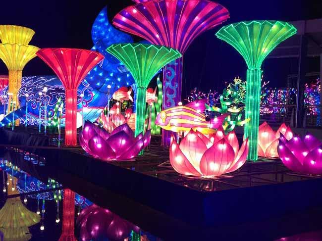 Dubai Garden Glow Ticket Dinosaur Park Glow Park Art Park