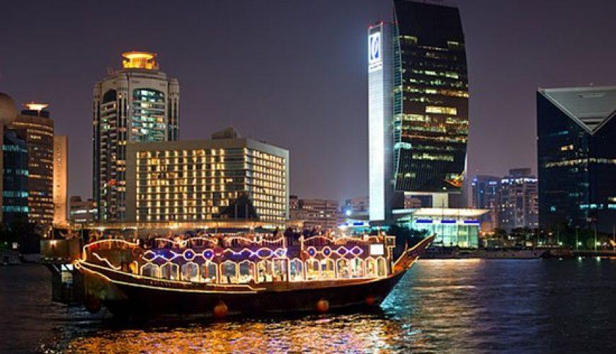 Dhow Dinner Cruise at Dubai Creek