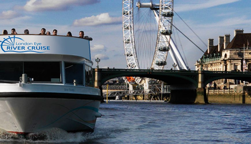 London Eye Ticket, River Cruise Experience
