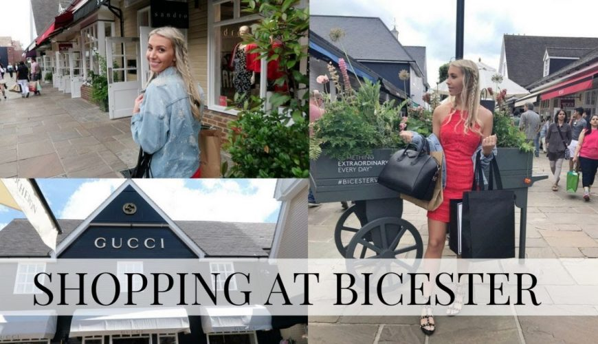 bicester village shopping trip