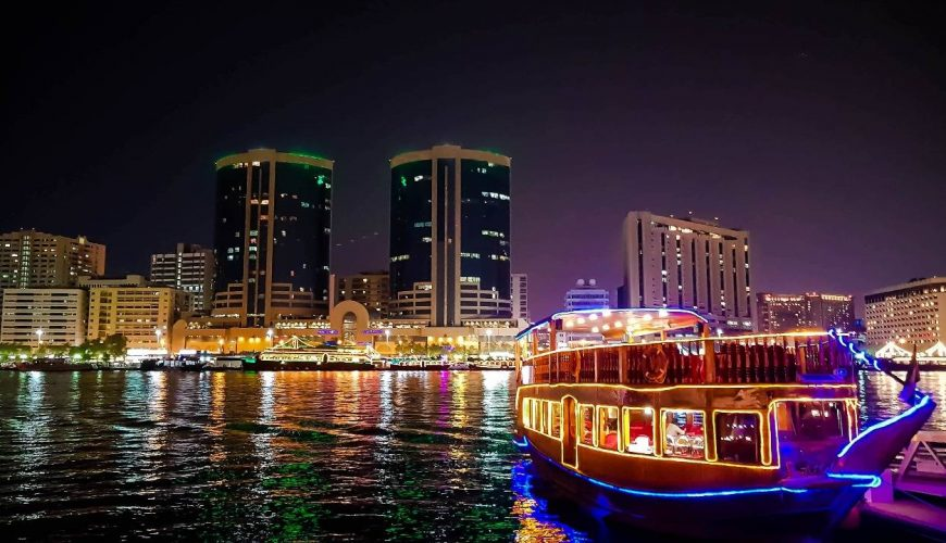 Dhow Dinner Cruise at Dubai Creek